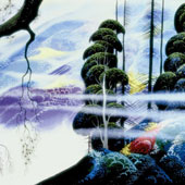 Along the Coast, by Eyvind Earle