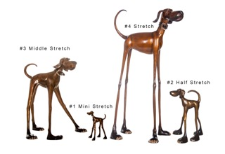 Middle Stretch, Mini Stretch, Stretch, & Half Stretch, by Marty Goldstein